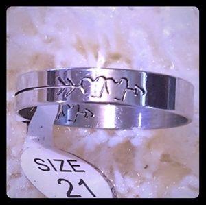 Women Stainless Steel Ring